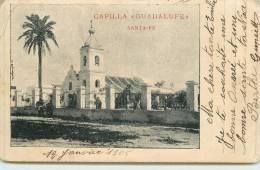 "SANTA-FE  - Capilla ""guadalupe"" (carte Vendue En L´état) - Argentine"
