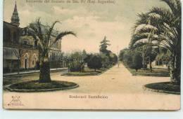 SANTA-FE  - Boulevard Santafecino. - Argentine