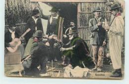 REPUBLICA ARGENTINA  - Gauchos.(carte Vendue En L'état). - Argentine