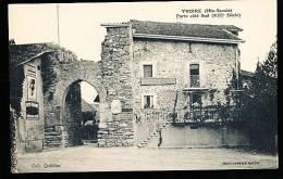74 YVOIRE / Porte De La Ville Côté Sud / - Yvoire
