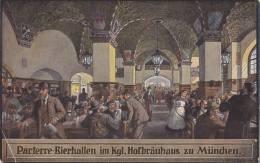 Bierhallen Im Höfbräuhaus München, Um 1930 - Restaurants