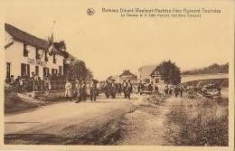 Carte Postale Meuse Bateau Dinant Waulsort La Douane Et Le Café Francais - Dinant