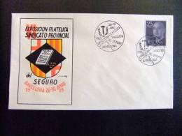 BARCELONA 1959  EXPOSICION FILATELICA DEL SINDICATO PROVINCIAL DEL SEGURO - Exposiciones Filatélicas