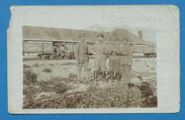 120417 / Real Photo WWI - PRILEP TRAIN GARE RAILWAY Macedonia Macedoine -  Bulgaria Bulgarie Bulgarien Bulgarije - Guerra 1914-18