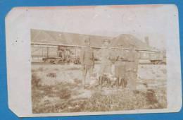 120418 / Real Photo WWI - PRILEP TRAIN GARE RAILWAY Macedonia Macedoine -  Bulgaria Bulgarie Bulgarien Bulgarije - War 1914-18