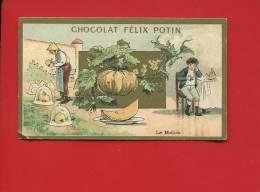 BELLE CHROMO DOREE FELIX POTIN MELON JARDIN ENFANT MALADE  LITH CHAMPENOIS - Chocolat