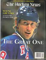 The Hockey News  Collector's Edition  Wayne Gretzky A Legend In Our Time  The Great One  1999 - Sports