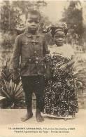 Afrique- Africa  -ref A723- Missions Africaines - Vicariat Apostolique Du Togo - Enfants Chretiens - Carte Bon Etat   - - Togo