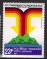 Polynésie Française Aérienne 1979 --Yvert   PA 147 -- Neufs* *  Cote 3,00 € -  19eme Conference Du Pacifique Sud. - Airmail