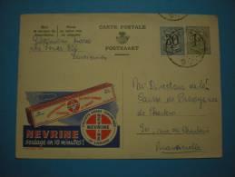 Publibel 1456 Nevrine 1957 - Reclame