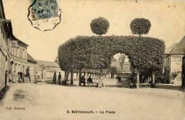 60-BERTHECOURT-La Place-animée - Francia
