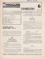 Les Feuilles Marcophiles Information N°6 - Avril 1975 - Français (àpd. 1941)