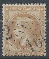 Lot N°21692   N°28A, Oblit GC 1602 FUANS (24), Ind 12 - 1863-1870 Napoleone III Con Gli Allori