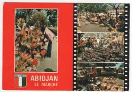 N° 6752 , Abidjan Le Marché , écrite Le 3/10/78 , Non Timbrée - Ivory Coast