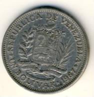 1967 Venezuela 1 Bolivar In Nice Condition, Nice Coin - Venezuela