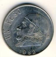 1982 Mexico 1 Peso In BU Condition, Nice Coin - Mexico