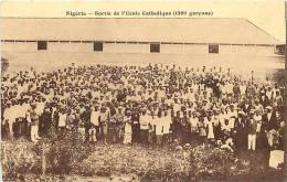Afrique- Africa -ref A662- Nigeria - Ecole Catholique  - Carte Bon Etat  - - Nigeria