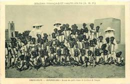 Afrique- Africa -ref A660-haute Volta -ougadougou - Ecole -classe De Francais  - Carte Bon Etat  - - Burkina Faso