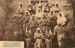 Afrique- Africa -ref A659-angola -congregation Des Soeurs Indigenes Par Les Soeurs De Cluny St Joseph- Carte Bon Etat  - - Angola
