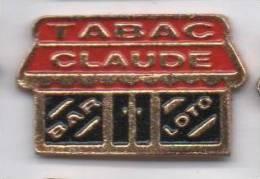 Tabac Claude  , Loto Bar - Badges