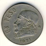 1971 Mexico 1 Peso In EF Condition - Mexico