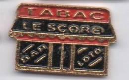 Tabac Le Score  , Bar Loto - Badges