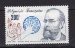 Polynésie Française Aérienne 1982 --Yvert   PA 167  -- Neuf **  Cote 5,40 € - Robert Koch. - Airmail