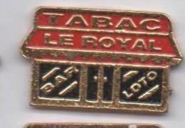 Tabac Le Royal  , Bar Loto - Badges