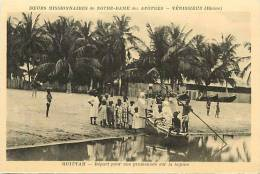 Afrique- Africa -ref A651- Togo -quittah - Depart Pour Une Promenade Sur La Lagune   -carte Bon Etat - - Togo
