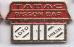 Tabac Bisson Bar , Loto Presse - Badges