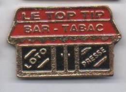 Tabac Le Top Tip , Bar Loto Presse - Badges