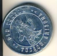 Old Tucson Good Luck Souvenir Coin In BU Condition - USA
