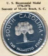 1976 USA U.S. Bicentennial Medal South Carolina In BU Condition - USA