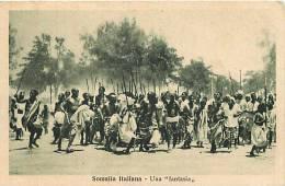 Afrique- Africa -ref A635- Somalia Italiana - Una Fantasia - Carte Postale Italienne -italie -carte Bon Etat   - - Somalia