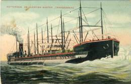 "Rotterdam - Boot - De Veertien Master "" Crangesberg "" - Rotterdam"