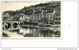 BOUILLON HOTEL DE LA POSTE ET VIEUX PONT DE LIEGE  N ° 17TARDIVE - Bouillon