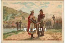 Dagobert II 18è Roi De France Règne De 711 à 716 Légende Au Dos - Trade Cards
