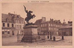 21720 Normandie Pittoresque -Montebourg Manche Avant Les Ruines -5244 Goubey Staute Jeanne D'Arc Coin Halles