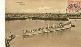 Vlissigen - Buitenhaven - Militaire Boot -1913 ( Verso Zien ) - Vlissingen