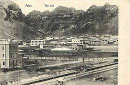 Yemen - Ref A607 - Aden - The Jail - La Prison  -carte Bon Etat - - Yémen