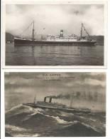 PAQUEBOTS JAMAIQUE ET SS LOTUS - - Paquebots