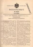 Original Patentschrift - V. Nicholson In Bellevue , Cork , Ireland , 1902 , Petroleum - Machine , Kraftmaschine !!! - Tools