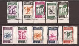 MA384-L30381TV.Maros.Maro Cc O. MARRUECOS   ESPAÑOL.1953.25º ANIV.1º SELLO MARROQUI. (Ed 384/3** )sin Fifasellos.LUJO - Variedades & Curiosidades