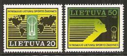 Lituania 1991 Nuovo** - Mi. 482/85 - Lituania