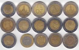 @Y@   Lot  WERELDMUNTEN     ( W 24  ) See Scan - Autres Monnaies