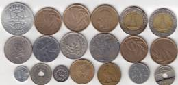 @Y@   Lot  WERELDMUNTEN    (  W 26 ) See Scan - Monnaies