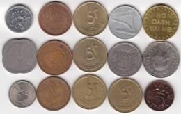 @Y@   Lot  WERELDMUNTEN    (  W 27 ) See Scan - Autres Monnaies