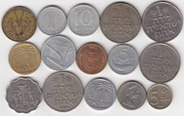 @Y@   Lot  WERELDMUNTEN    (  W 28 ) See Scan - Monnaies
