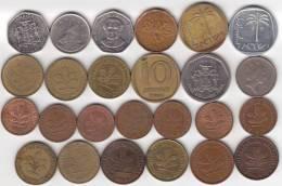 @Y@   Lot  WERELDMUNTEN    (  W 29 ) See Scan - Monnaies