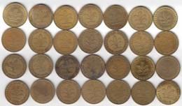 @Y@   Lot  WERELDMUNTEN    (  W 30 ) See Scan - Monnaies